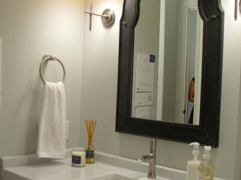 15 ideas for bathroom mirror 2020 (increase your bathroom value) 13