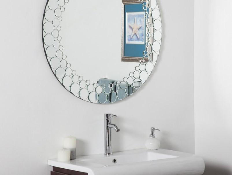 15 ideas for bathroom mirror 2020 (increase your bathroom value) 14