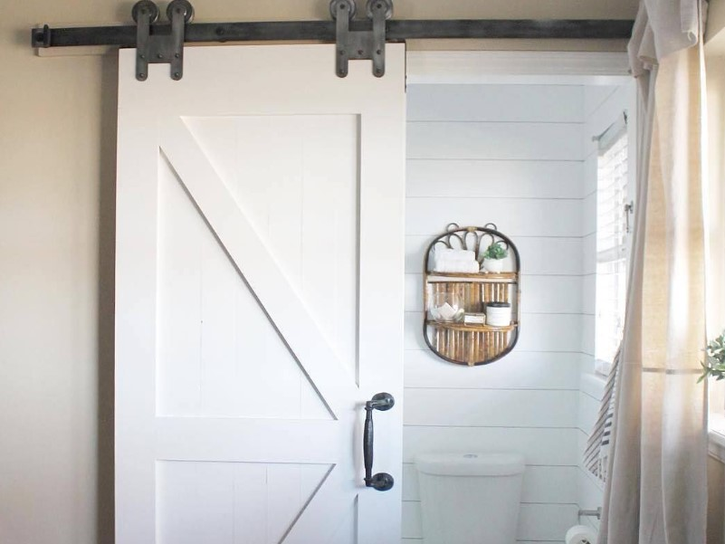 45 ideas for a bathroom in the farmhouse 2020 (with a touch of nature) 4