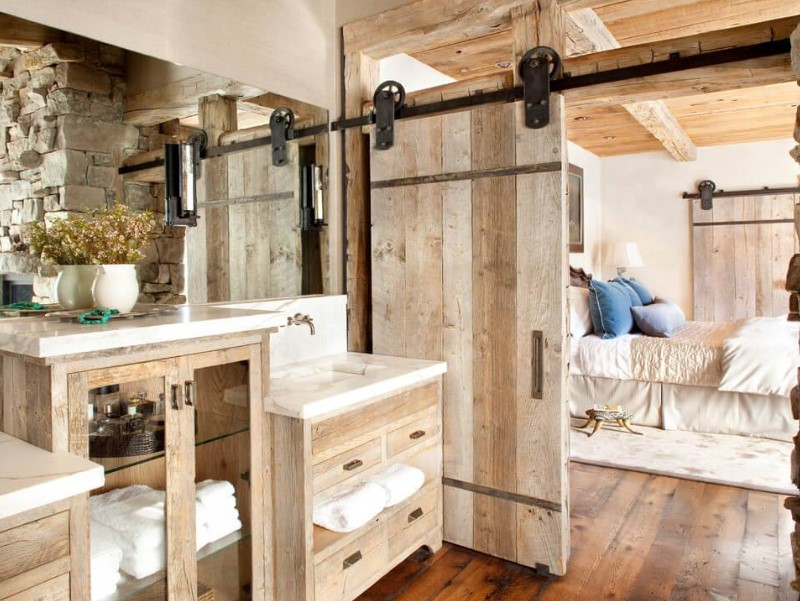 45 bathroom ideas for farmhouses 2020 (with natural accents) 5