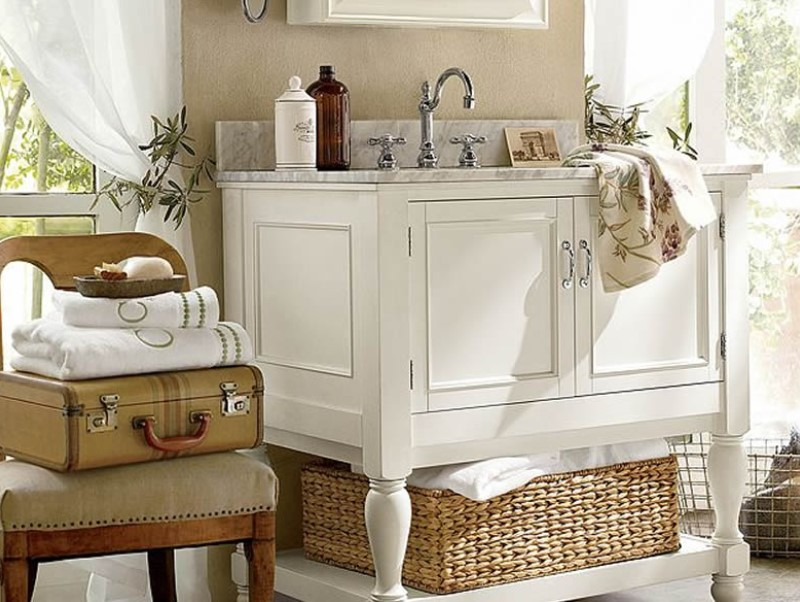 45 bathroom ideas for farmhouses 2020 (with natural accents) 8