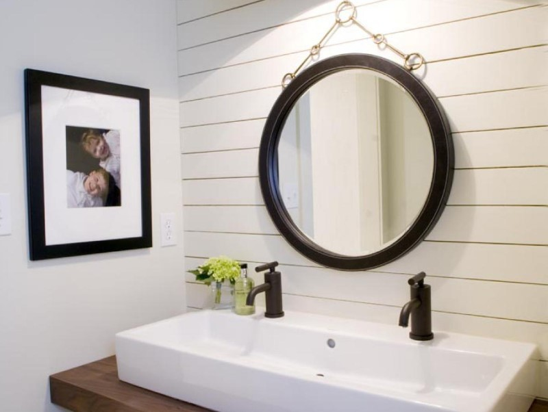 45 bathing ideas for farmhouses 2020 (with a touch of nature) 12