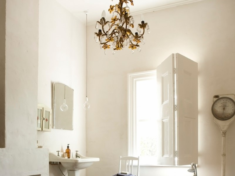 45 ideas for a bathroom in the farmhouse 2020 (with a touch of nature) 13