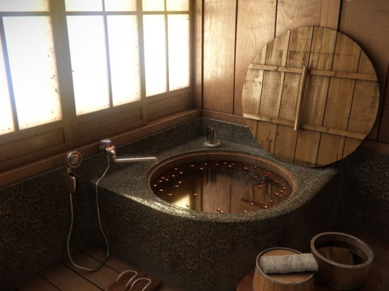 45 bathroom ideas for farmhouses 2020 (with natural accents) 14