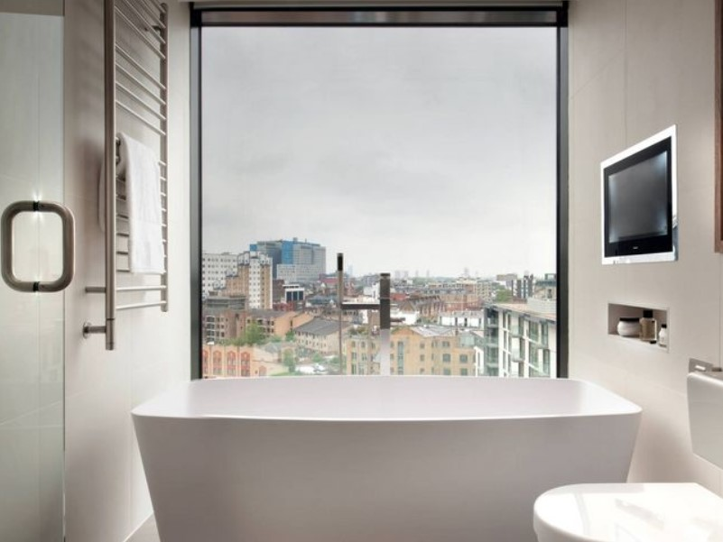 45 ideas for bathroom windows 2020 (for different designs) 2