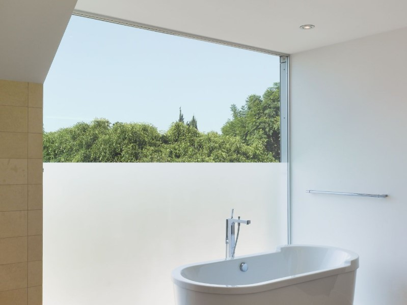 45 ideas for bathroom windows 2020 (for different designs) 7