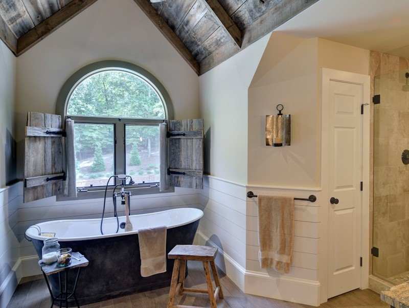 45 ideas for bathroom windows 2020 (for different designs) 8