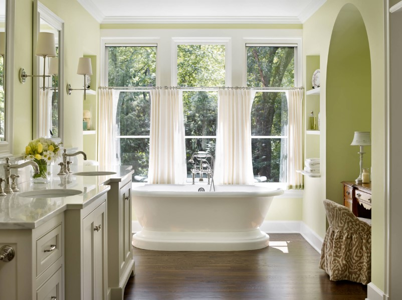 45 ideas for bathroom windows 2020 (for different designs) 9