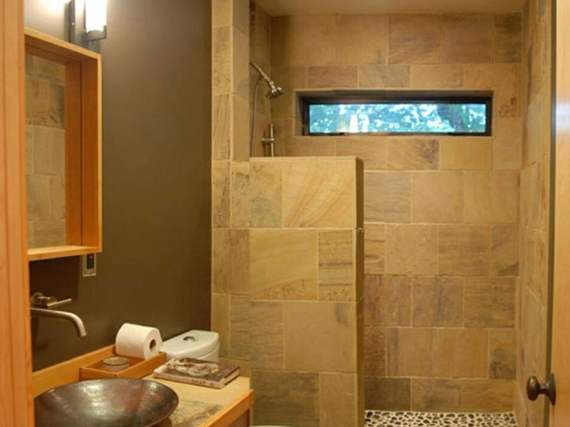 45 ideas for bathroom windows 2020 (for different designs) 10