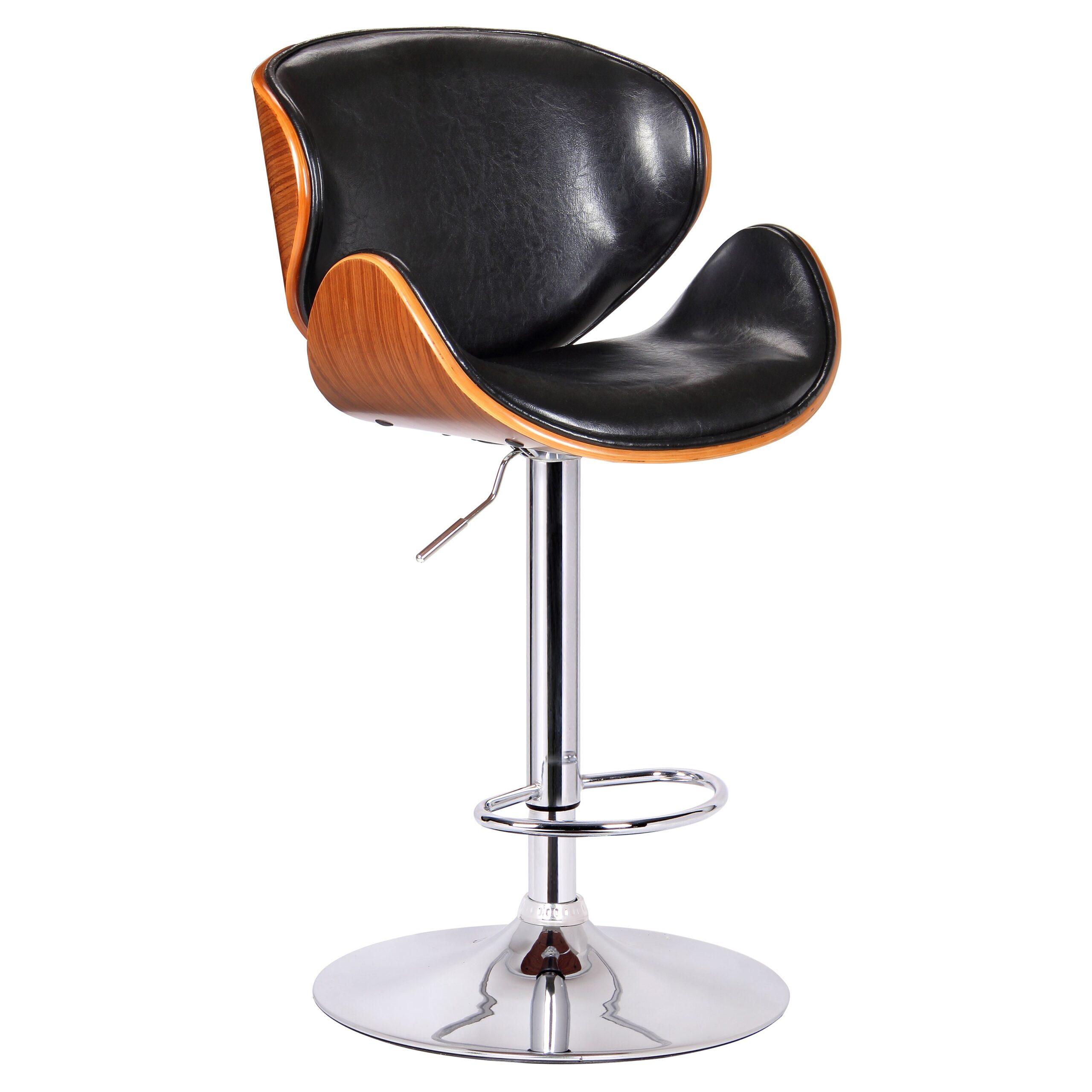 adjustable swivel bar stools with back