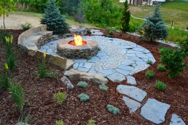 17 Wonderful Rustic Landscape Ideas to Turn Your Garden To Heaven DVCGVIJ