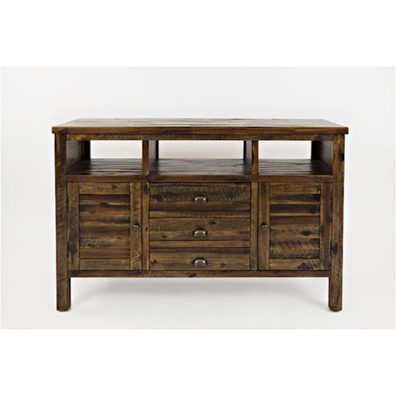 1742-50 Jofran Furniture Artisan Crafts - Dakota Oak 50 Inch Media Console LVAPBBS