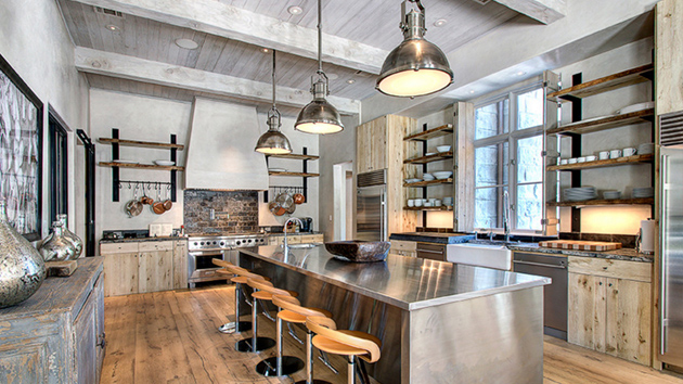 20 charming vintage lights above the kitchen table |  Home design lover SAABZAI