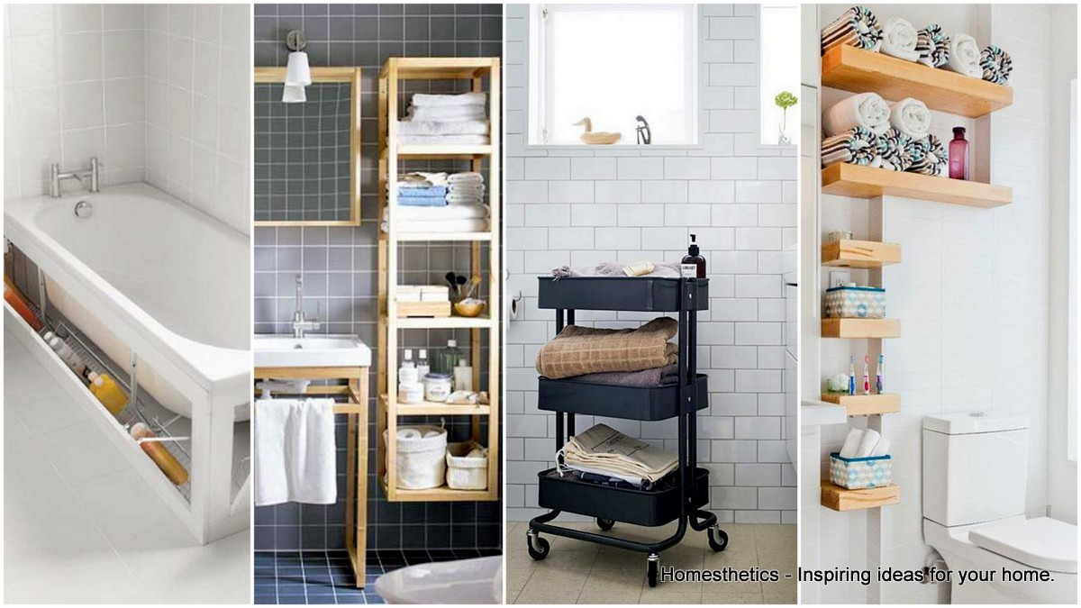 20 clever storage ideas for the bathroom that will impress you OBUUTHN