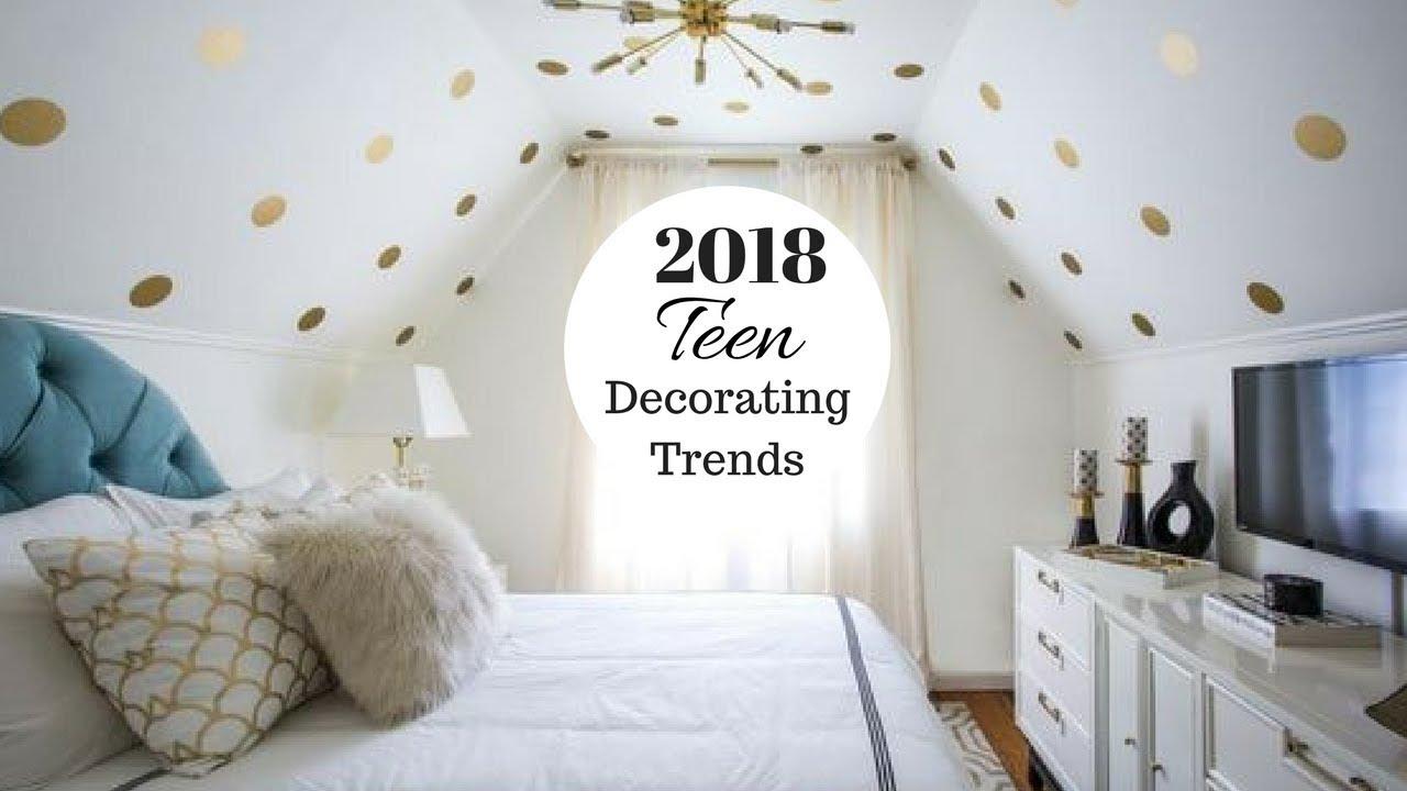 2018 teenage girl bedroom decorating ideas JSDCWQA