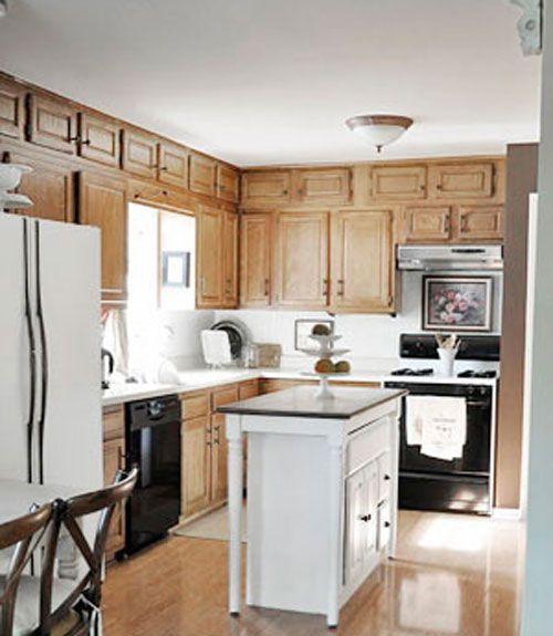 22 Kitchen Rejuvenation Before & After - Kitchen Remodeling Ideas JYMRVKY