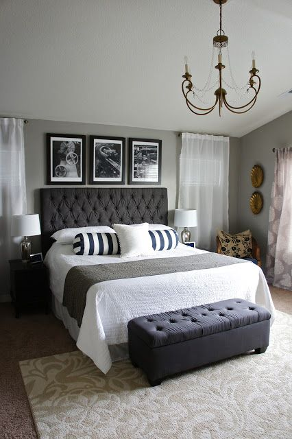 26 simple and chic decorating ideas for the master bedroom |  Stylecaster NWYQAOD