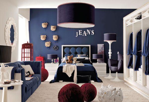 30 cool and modern boys room ideas in blue YJAKLOM