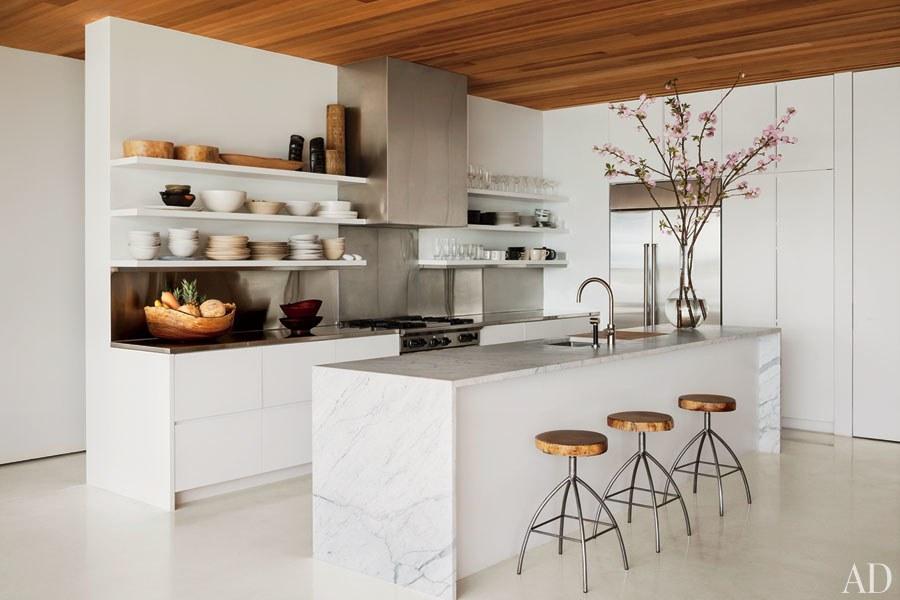 30 White Kitchen Design Ideas QDQZNAF