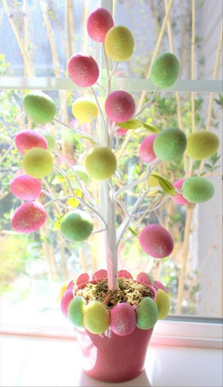 33 impressive DIY Easter decorations DBMGNQA