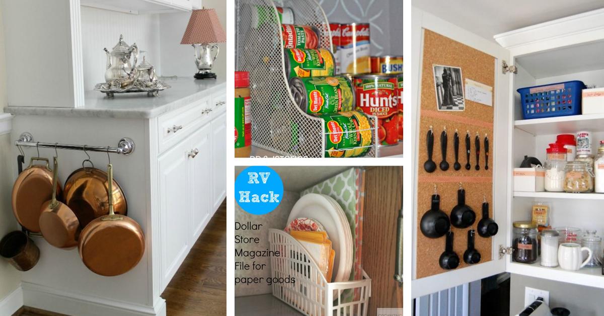 $ 36 Shop Kitchen Organization Hacks That You Can Do Like an RKXRMIO