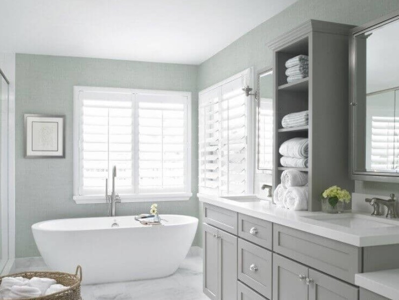 45 ideas for bathroom windows 2020 (for different designs) 1