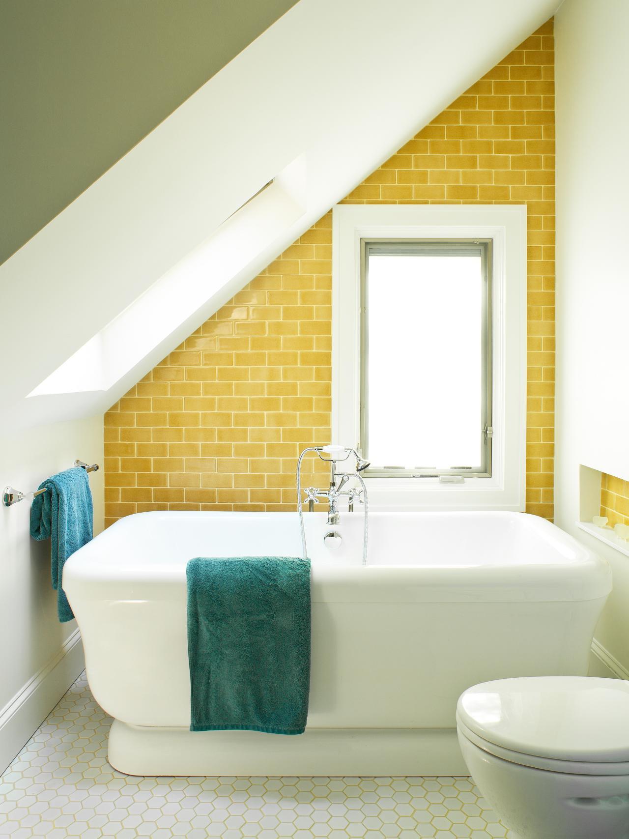 Happy bathroom wall