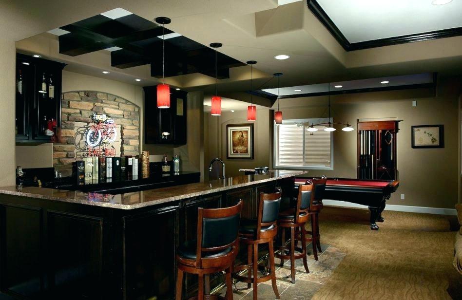 basement bar countertop ideas