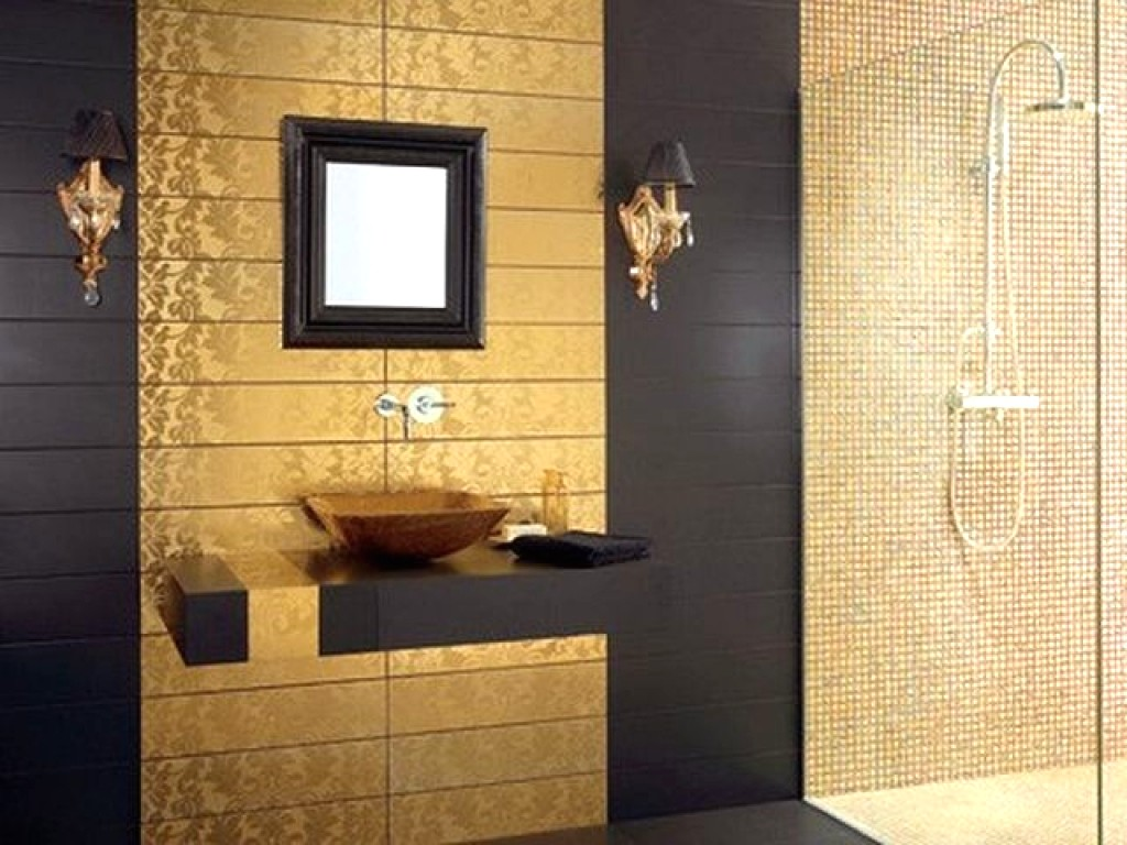 Exceptional bathroom wall