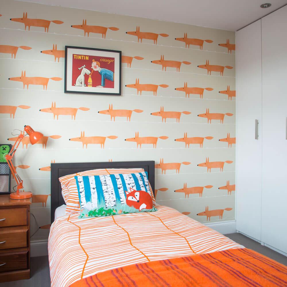Animation bedroom wallpaper