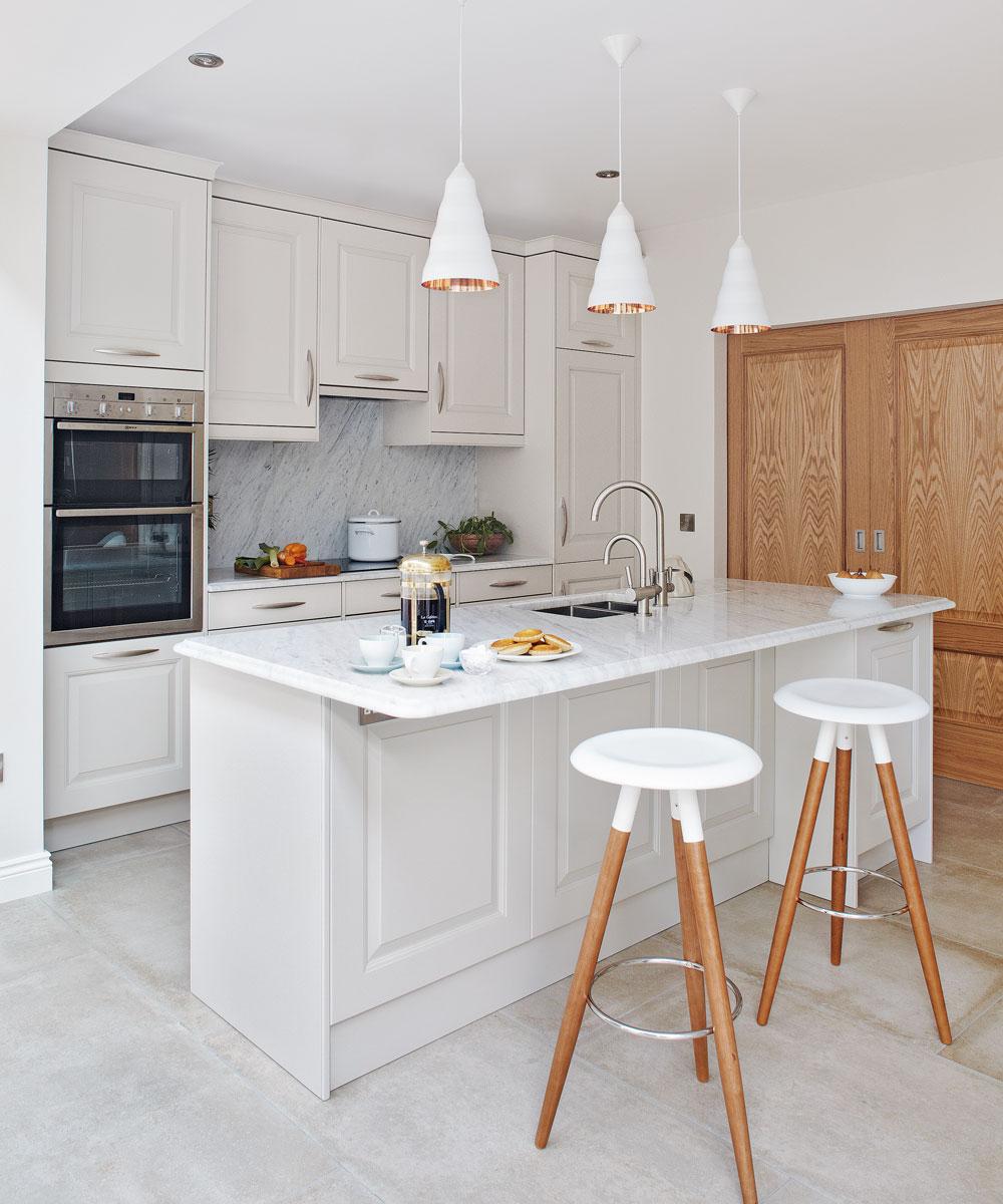 Nice kitchen island seat model