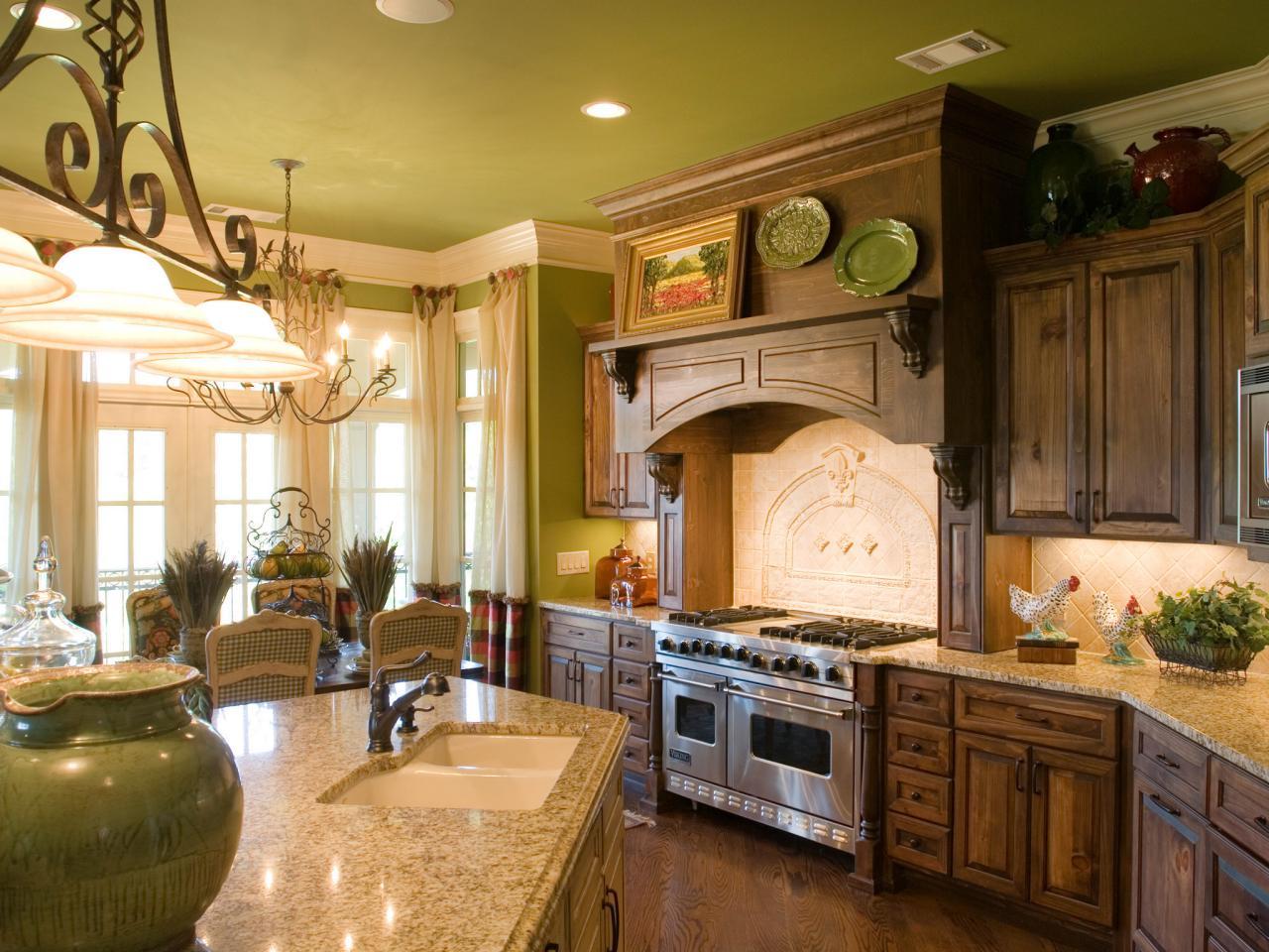 Stylish French country kitchen