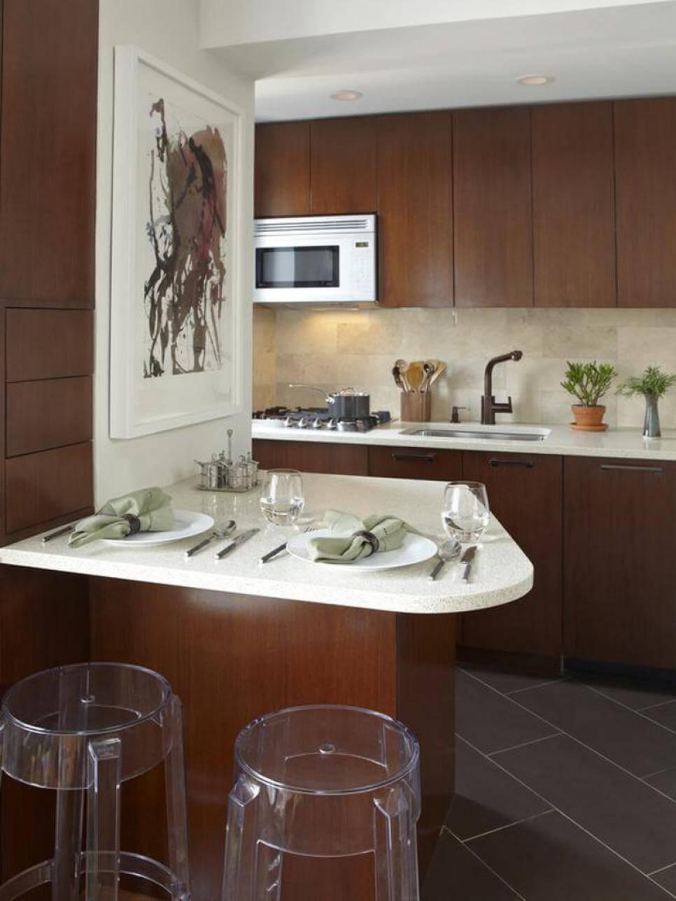 Creative design of the kitchen island seating furniture