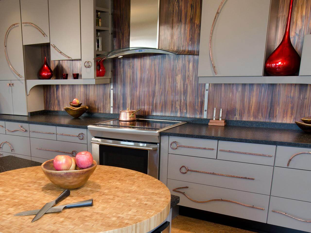 Unique, inexpensive kitchen island