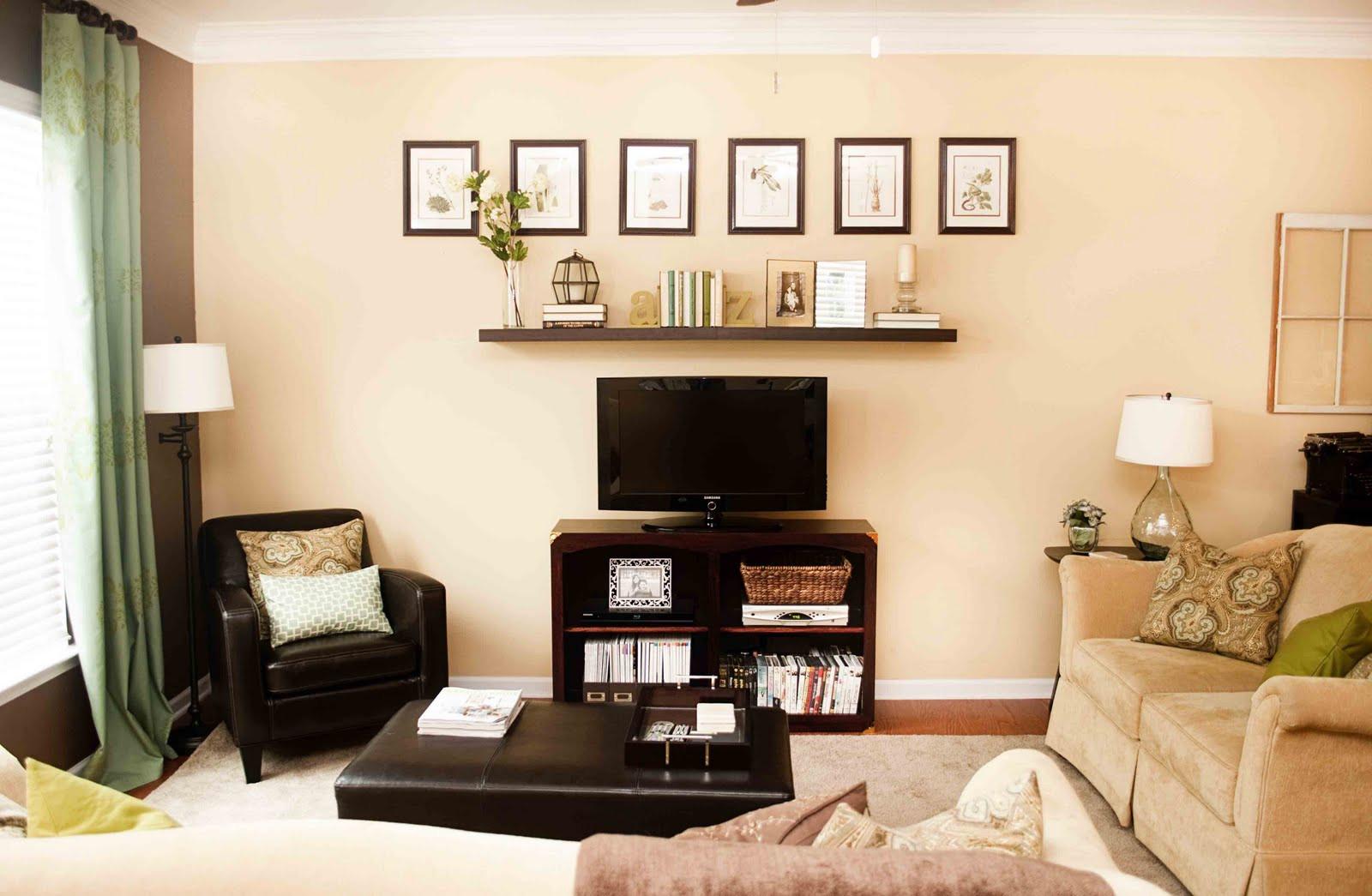 Nice, casual living room
