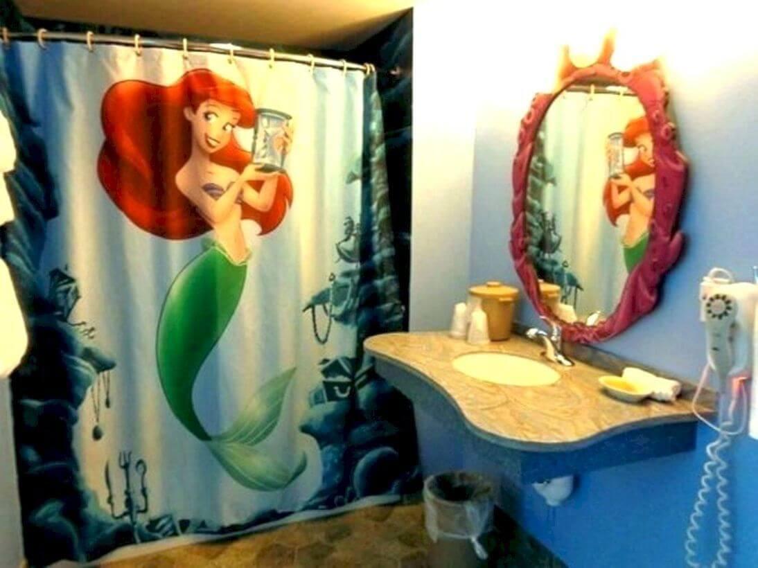 Nice mermaid bath