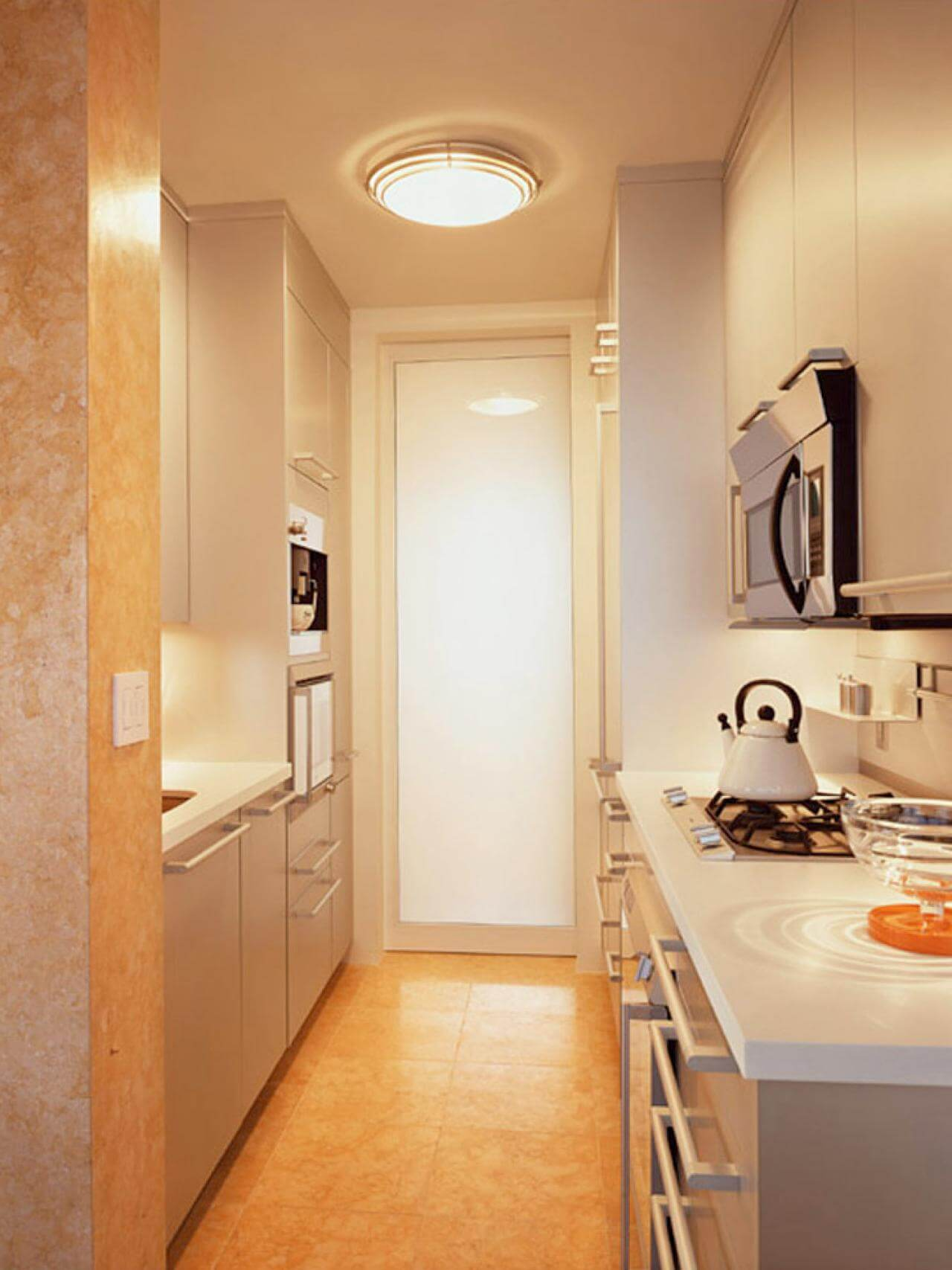 Minimalist pantry kitchen
