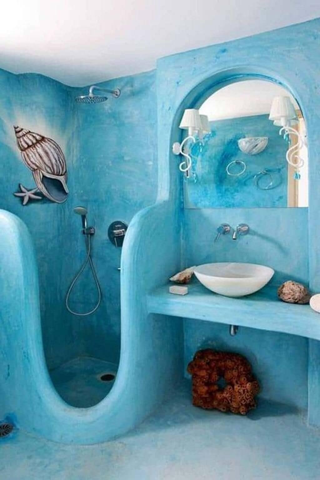 Fantastic mermaid bath