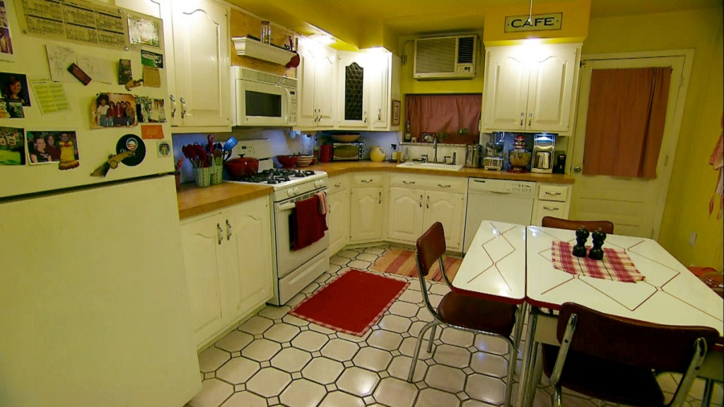 Cozy retro kitchen