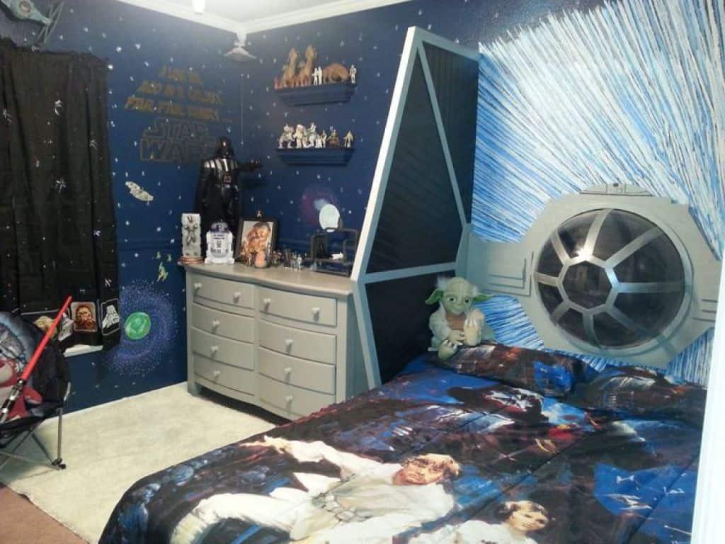 Wonderful superhero bedroom