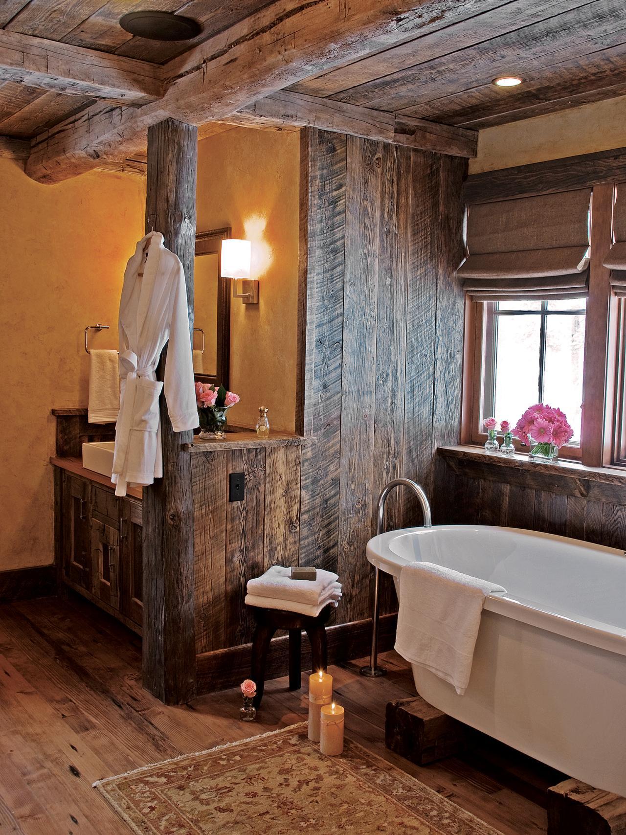 Sweet western bathroom