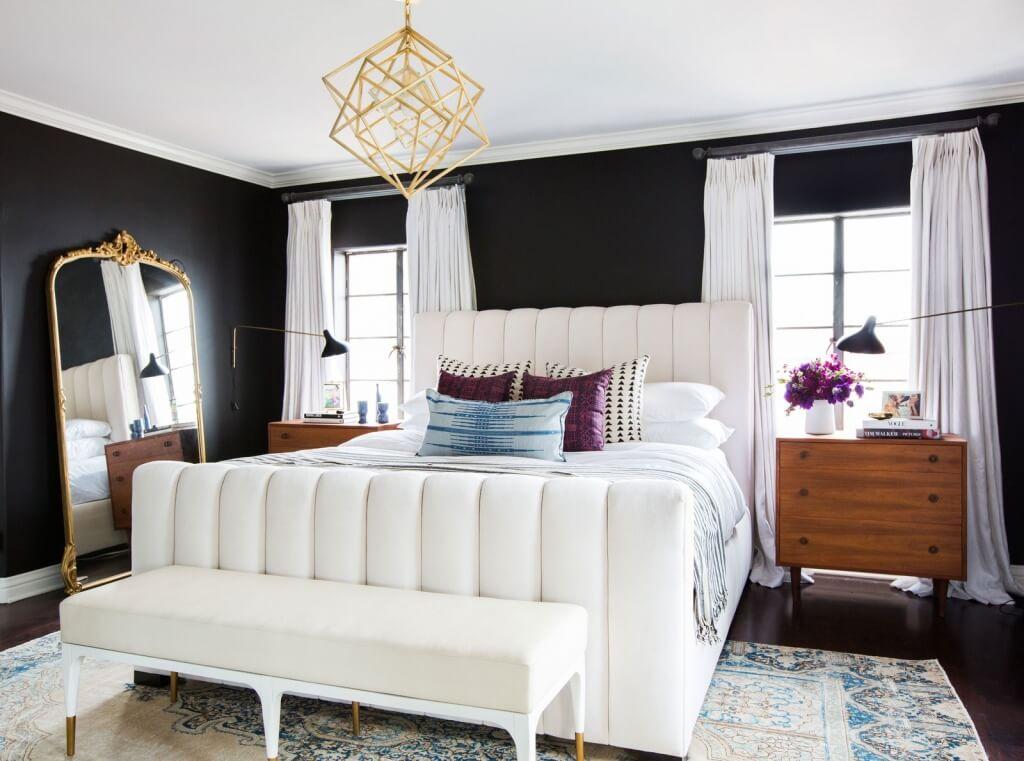 Impressive white bedroom