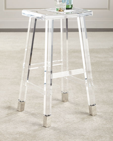 Acrylic bar stool Darnell acrylic bar stool ZOUBCGQ