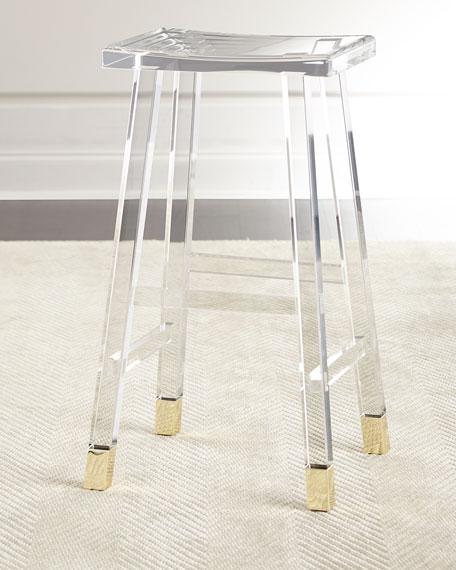 Acrylic bar stool Interlude Home Dyer acrylic bar stool OYNRPDO