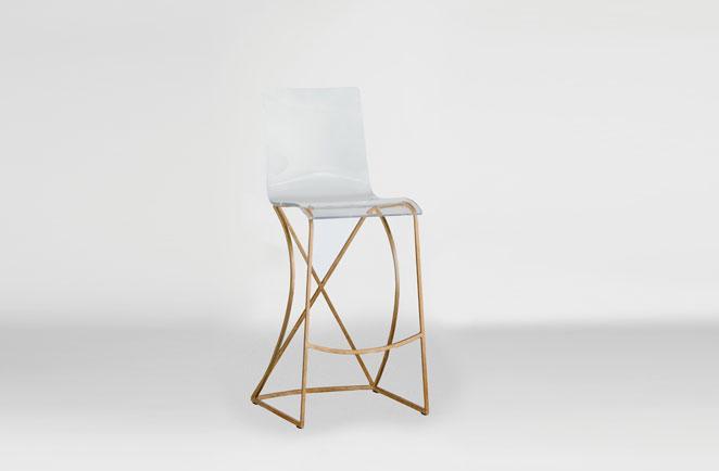 Acrylic bar stool Johnson bar stool NPYMYTJ