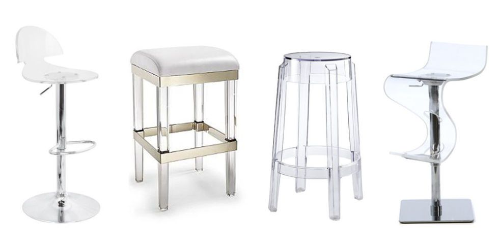 Acrylic bar stool KEDAKGO
