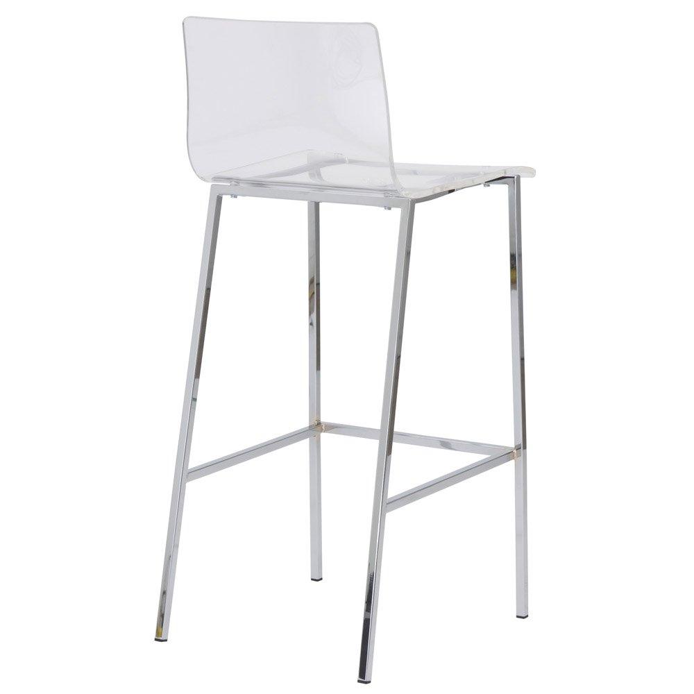Acrylic bar stool sia Modern acrylic bar stool 2-piece set    zuri furniture VUOEEJH