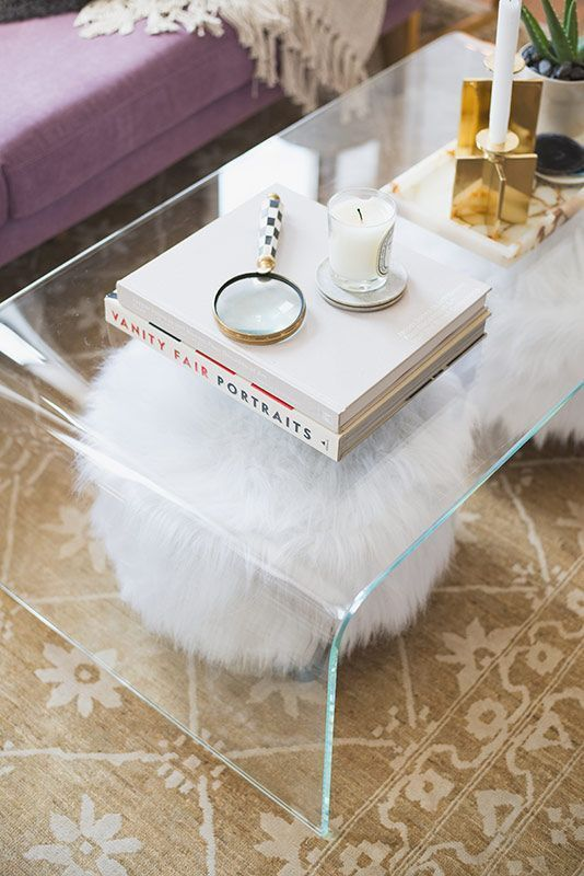 Acrylic Cocktail Tables 20 chic acrylic coffee tables living room trunk in terms of interior VUNJYYT