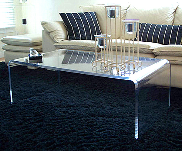 Acrylic coffee tables 20 chic acrylic coffee tables relating to cocktail idea 6 ESYZIUB