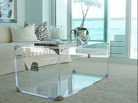Acrylic cocktail tables FKOUYMR